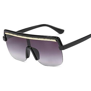 XIELH Gafas de sol Gafas De Sol De Gran Tamaño De Moda para ...