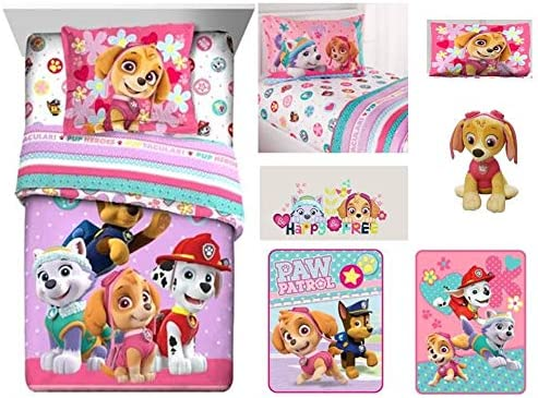 Paw Patrol Skye Pillowcase Only Size Standard Girls Kids Bedding