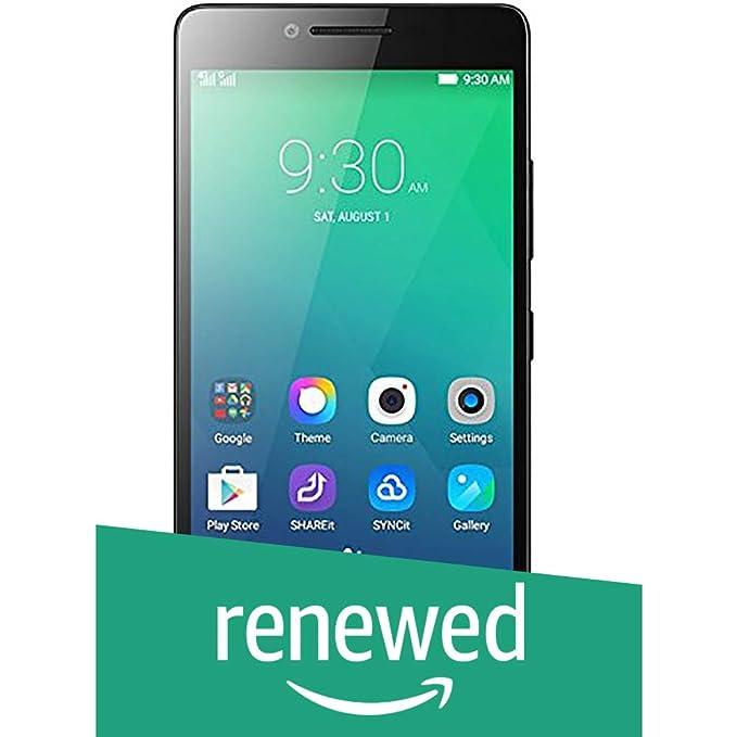 Renewed  Lenovo A6000 Shot  Black, 16 GB  Smartphones