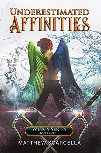 Underestimated Affinities: Cover Option 1 (Wings Series) by [Scarcella, Matthew]