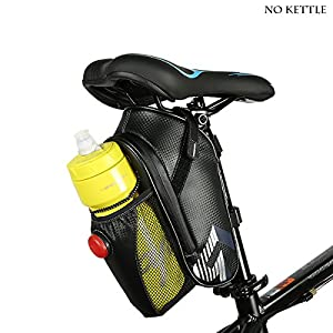 Abonnylv Bike Seat Pack With Rear Light ,Cycling Saddle Bag