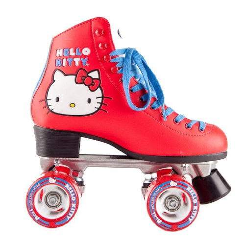 Moxi Hello Kitty Limited Edition Red Quad Roller Skates