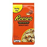REESE'S Chocolate Candy, Peanut Butter Cups Miniatures, 40 Ounce Bag