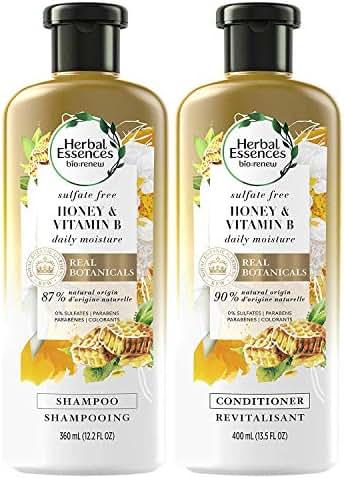 Shampoo & Conditioner: Herbal Essences Bio:Renew Honey & Vitamin B