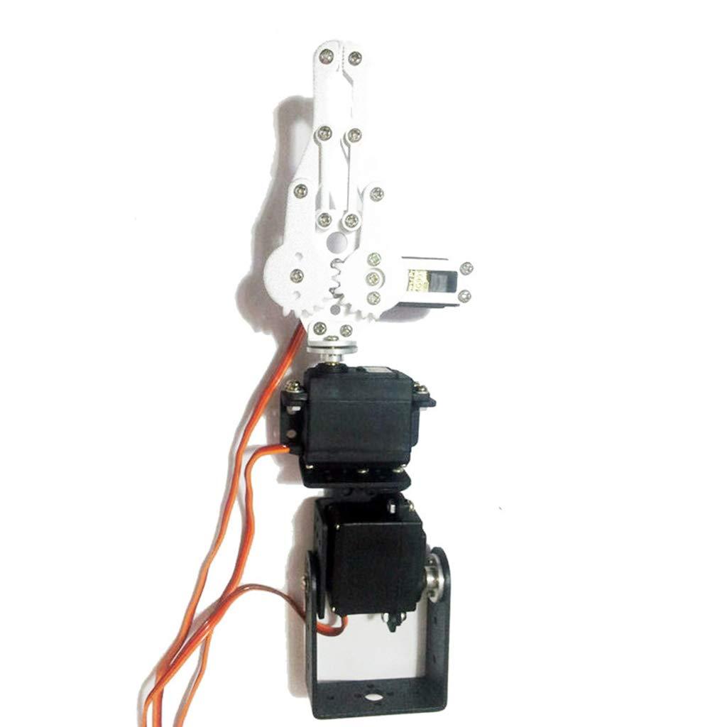 perfeclan Kit de Brazo Mecánico Robótico de Metal Robótico con Brazo Robótico de 3 Dof + Servo Analógico: Amazon.es: Electrónica