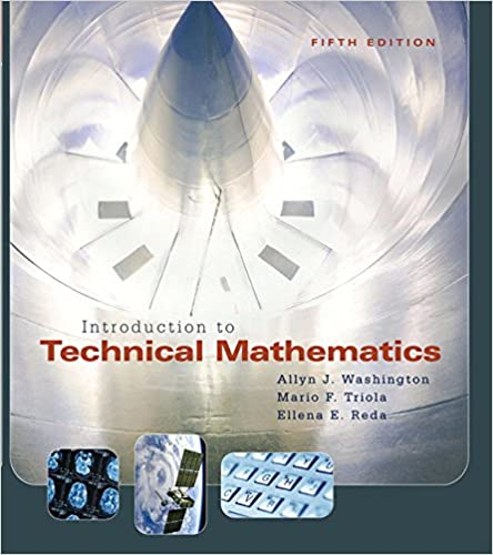 5th Edition Introduction to Technical Mathematics