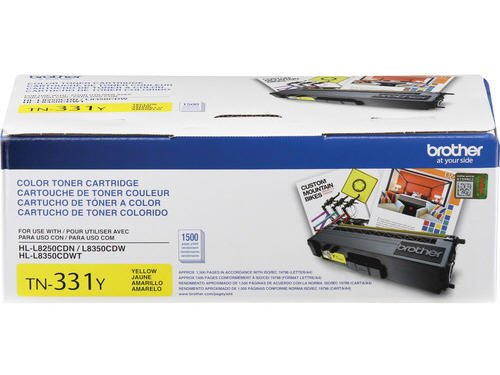 Brother Printer TN331Y Toner Cartridge