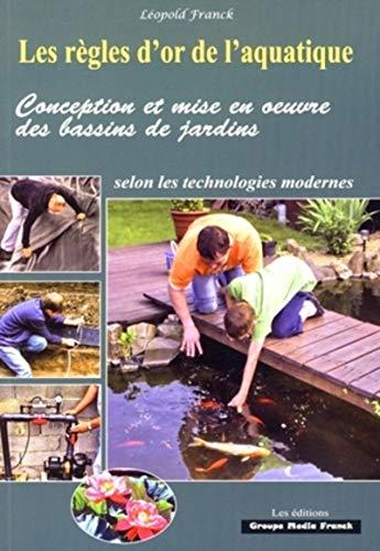 Conception et mise en oeuvre des bassins de jardin selon les technologies modernes