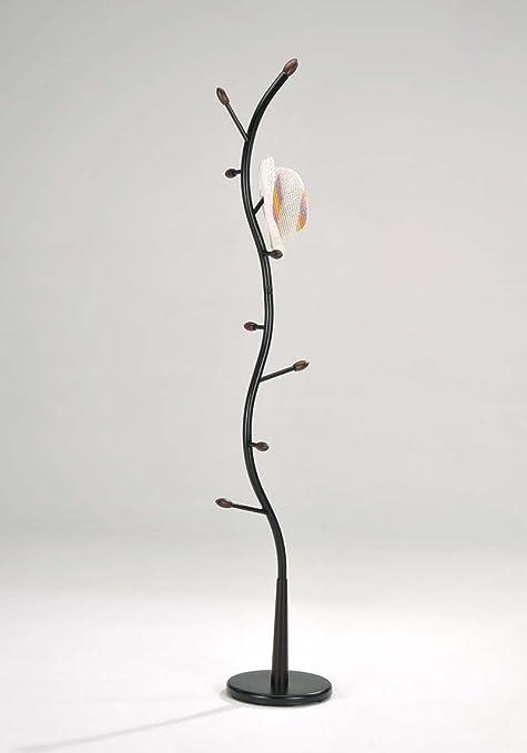 Amazon King's Brand Furniture Black Metal Walnut Wood Hall Impressive Coat Rack That Looks Like A Tree