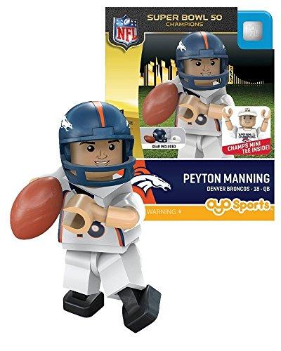 OYO NFL Denver Broncos Super Bowl 50 Champions Peyton Manning Minifigure, Small, ()