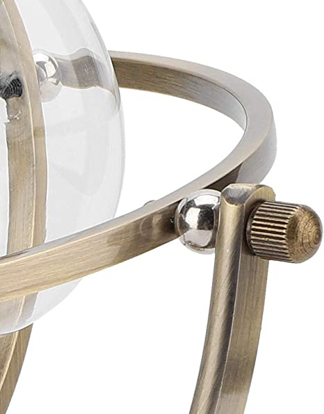 TOPINCN Clessidra Rotante 15 Minuti Clessidra in Metallo con Sabbia per Decorazioni Vintage