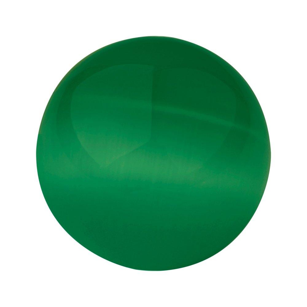 Quiges interchangeable Mini piè ce de monnaie 12 mm vert gazon œ il de chat Pierre SLSRC058