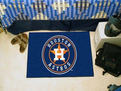 MLB Houston Astros 19'' x 29'' Orange Logo Starter Mat by Fanmats