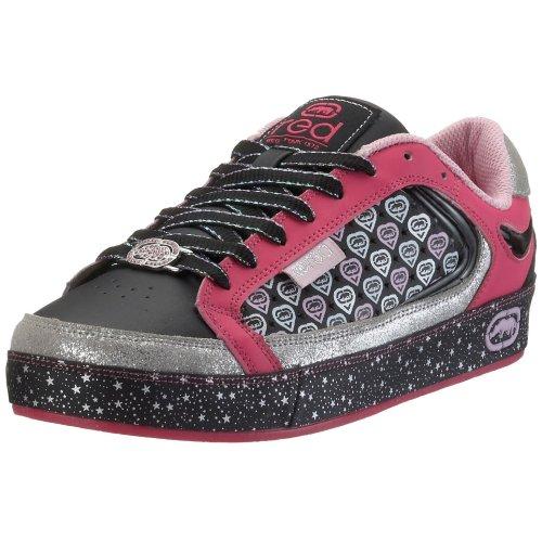 Marc Ecko Footwear - Zapatillas de deporte de cuero para niña Negro