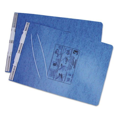 ACCO Pressboard Hanging Data Binder, 11 x 14.875 Inches Burst Sheets, Light Blue ()