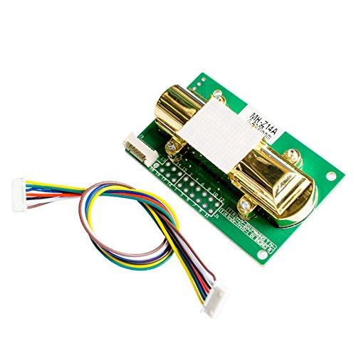 - MH-Z14A NDIR Infrared Carbon Dioxide Sensor Module MH-Z14A Serial PWM Analog Output 0-5000ppm CO2 Sensor