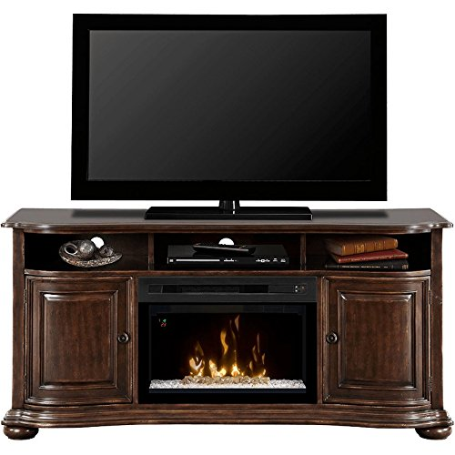 Dimplex Henderson Electric Fireplace & Entertainment Center - Acrylic Ice Firebox