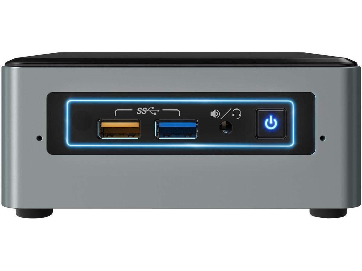 Intel NUC 6 Essential Mini PC - Celeron, 2GB RAM, 32GB eMMC, Windows 10