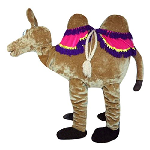 Aladin Camel (2 people in it) Mascot Costume Langteng Cartoon (Good Two Person Halloween Costumes)