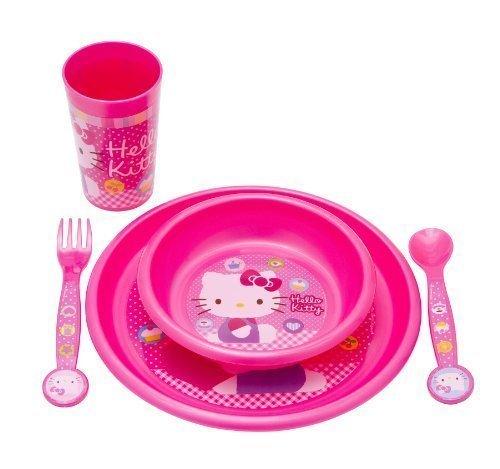 Disney 5 Piece Breakfast Set (Hello Kitty)