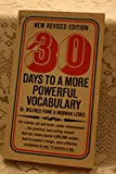 img - for 30 Days to a More Powerful Vocabulary book / textbook / text book