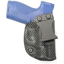 Kahr, Black Carbon Fiber, Kydex Concealment IWB Gun Holsters. Left & Right versions available.