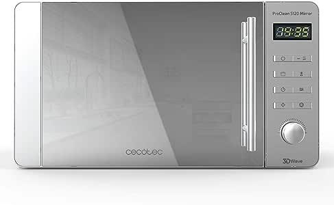 Cecotec ProClean 5120 - Microondas con grill, capacidad 20 L, 700 ...