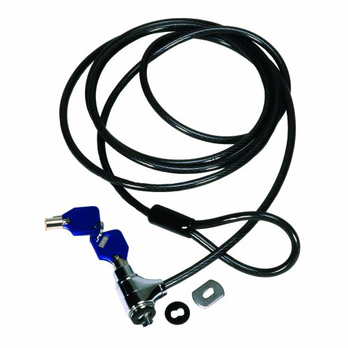 CODi Key Cable Lock, Black by Codi