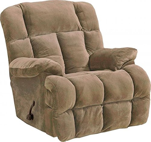 6541-2-2334-36 (Camel) Catnapper Cloud 12 Rocker Recliner. Manuel recliner, has handle. Free Curbside Delivery.