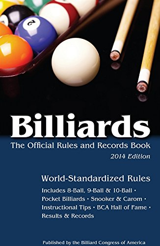 Billiards 2014: The Official Rules & Records Book