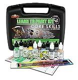 Reaper Miniatures 08906 Learn To Paint Bones Kit