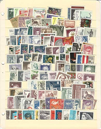 Austria Collection on Stock Page, Stamps, Includes Some Other Countries