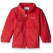Columbia Sportswear Baby Steens MT II Fleece Outerwear, Mountain Red, 3/6