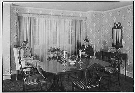 Photo: Gimbel Brothers,business In Philadelphia,Pennsylvania. Dining Room  Set 1
