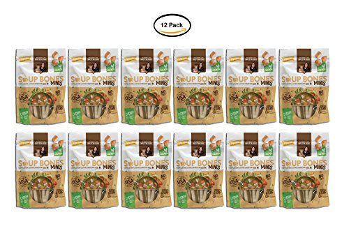 PACK OF 12 - Rachael Ray Nutrish Soup Bones Minis Dog Treats