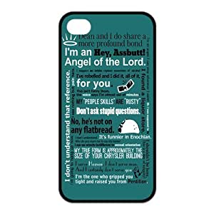 Funny SPN Supernatural Quotes Protective Hard Case For Samsung Note 3 Cover