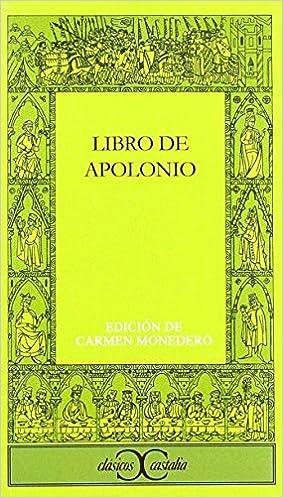 Libro De Apolonio: Amazon.es: Carmen Monedero: Libros