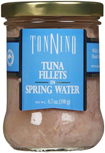 Tonnino Tuna Filets in Spring Water, 6.7 oz