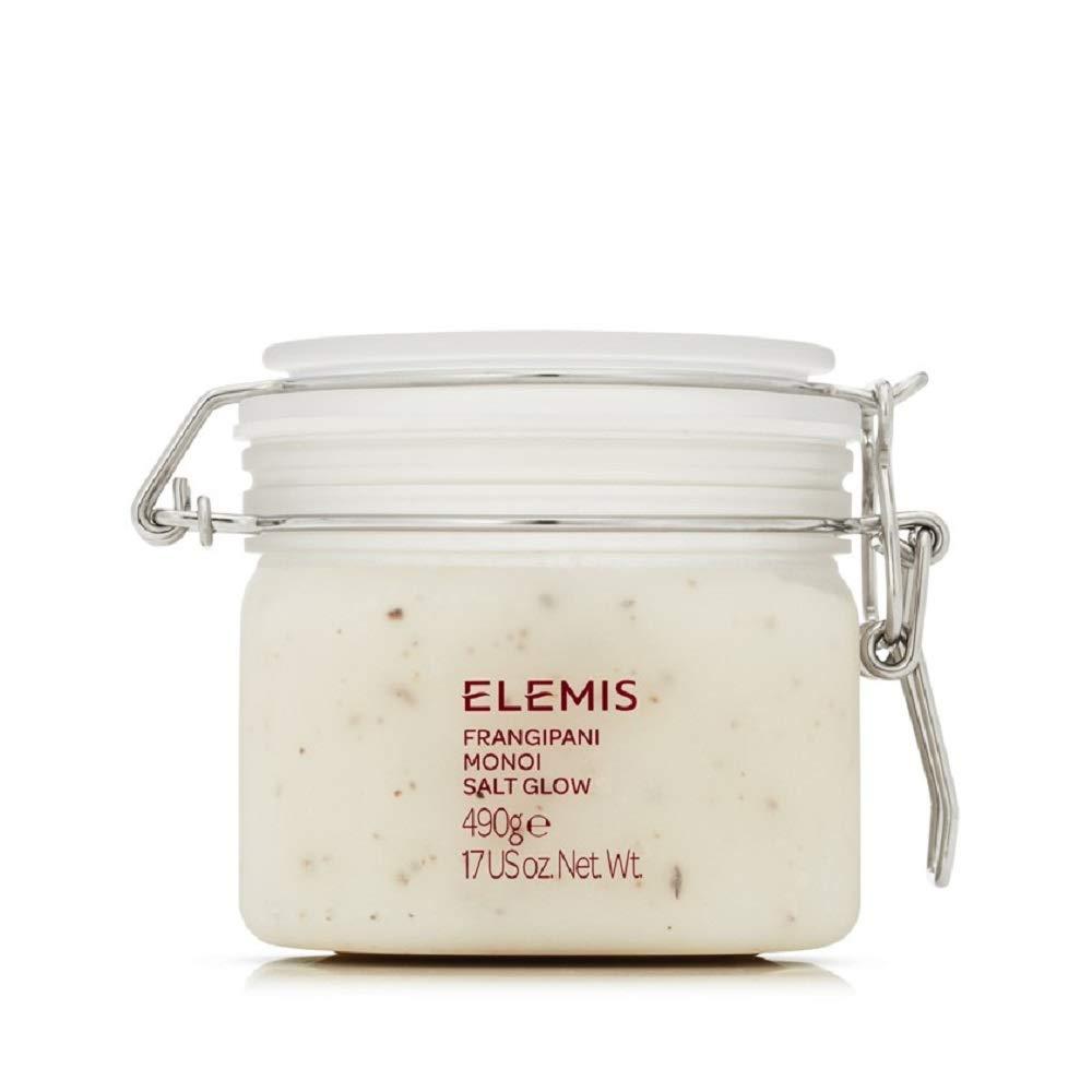 ELEMIS Frangipani Monoi Salt Glow, Skin Softening Salt Body Scrub, 17.0 fl. oz. by ELEMIS