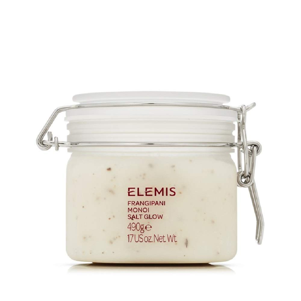 ELEMIS Frangipani Monoi Salt Glow, Skin Softening Salt Body Scrub, 17.0 fl. oz. by ELEMIS (Image #1)