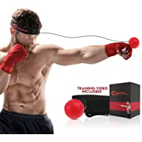 Champs MMA Boxing Reflex Ball - Boxing Equipment Fight Speed, Boxing Gear Punching Ball Great for Reaction Speed and…