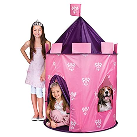 Discovery Kids Indoor/Outdoor Princess Play Castle