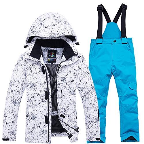 Pour H D'hiver 2 Extérieur Imperméables De Vent Ski Pièces Enfants En Pantalons Ensemble Au Veste vpx1qnn