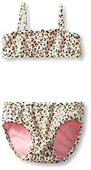 Leopard Print Infant Bikini with Sequins