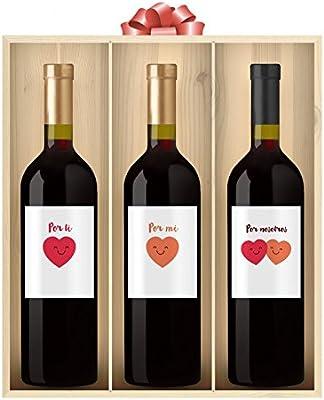 Pack de 3 Vinos Personalizados