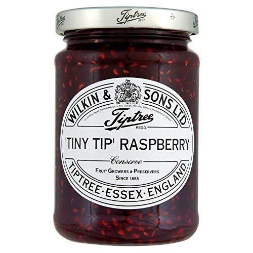 Tiptree Tiny Tip Raspberry Conserve (340g) - Pack of 2 - Chocolate Cake Raspberry Sauce