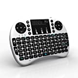 2.4GHz Rii i8 Mini Wireless Touchpad Keyboard with Mouse for PC, PAD, XBox 360, PS3, Google Android TV Box, HTPC, IPTV (white)