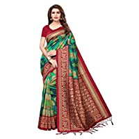 Anni designer Art Silk Saree With Blouse