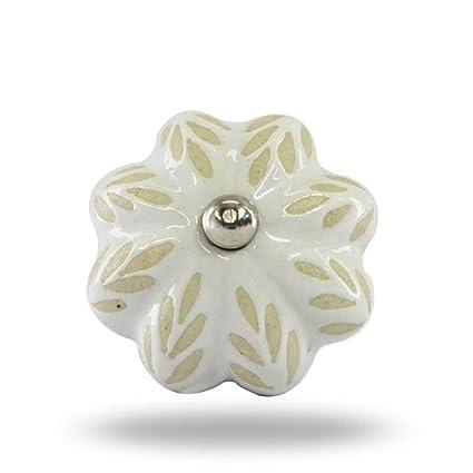 Amazon Com Indian Handicrafts Export Jasper Ceramic Knob Home