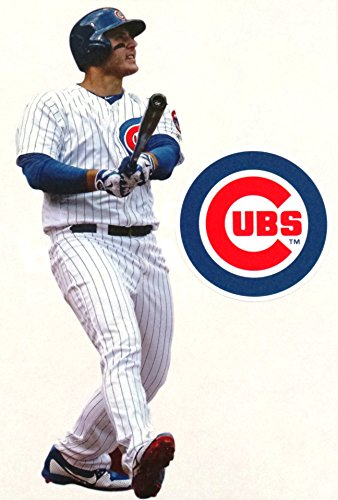 FATHEAD Anthony Rizzo Mini Chicago Cubs Official MLB Vinyl Wall Graphic 7